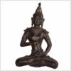 Vajrasattva Dorje Sempa braun 33,5cm Vorderseite