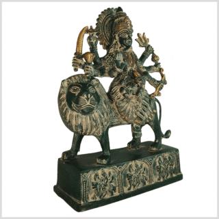 Durga grünantik 28cm Seite links