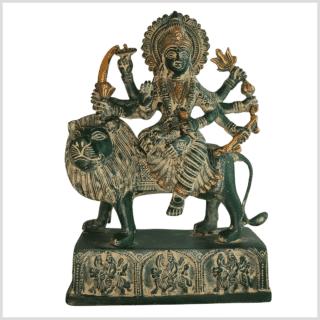 Durga grünantik 28cm vorne
