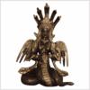 Nag Kanya 20cm Messing verkupfert Vorne