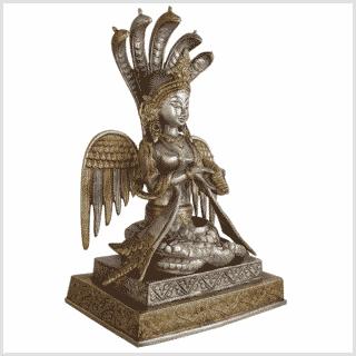 Nag Kanya Messing Silber 32cm Seite rechts