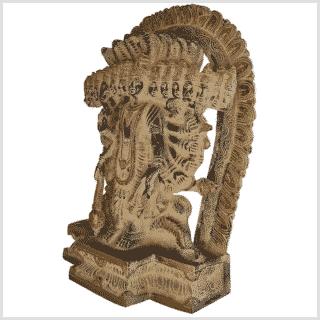 Vishnu - Erhalter der Welt 29cm Seite links