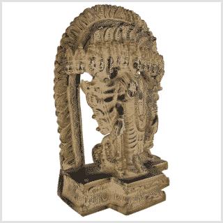 Vishnu - Erhalter der Welt 29cm Seite rechts