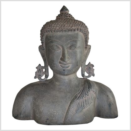 Buddhakopf Büste 26cm 4,4kg Handarbeit