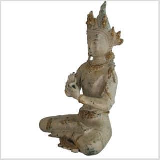 Dharmachakra Buddha 26cm Seite links