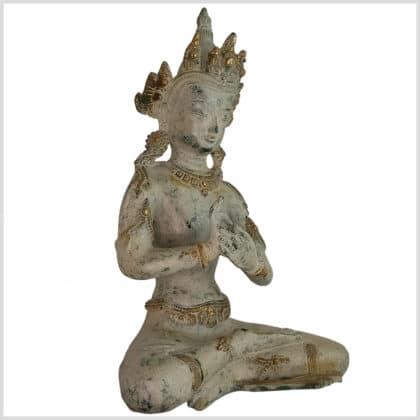 Dharmachakra Buddha 26cm Seite rechts