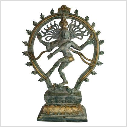 Tanzender Shiva 33cm altantikgrün