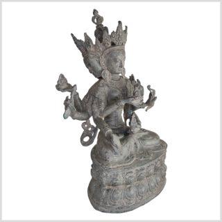 Mutter aller Buddhas 36cm Messing granitgrau Seiter rechts
