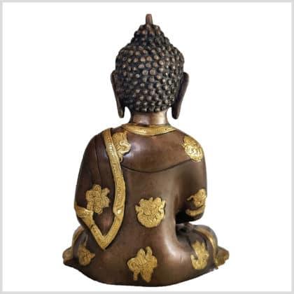 Erleuchteter Buddha Dhyana Mudra 25cm hinten
