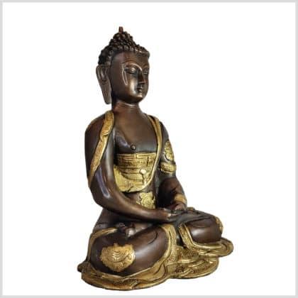 Erleuchteter Buddha Dhyana Mudra 25cm rechts