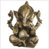 Ganesha Messing 21cm Elefantengott