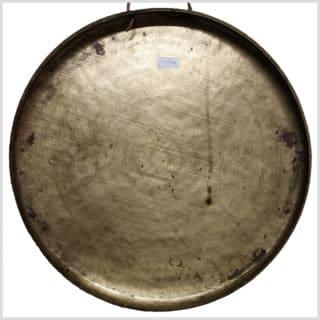 Tibet Gong - altes Original 53cm Rückseite