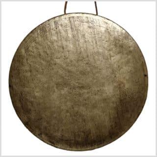 Tibet Gong - altes Original 53cm Vorderseite