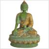 Erdender Buddha mint dunkelgrün 33cm Vorderansicht