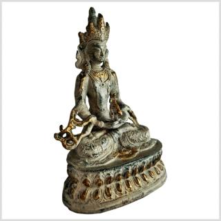 Amitayus Nepali grüngold Seite rechts