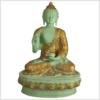 Lehrender Buddha mintgrün Lifebuddha 4kg 33cm vorne
